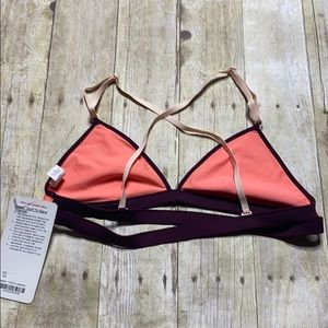 lululemon athletica Swim - Lululemon Surf to Sand Triangle Bikini Top